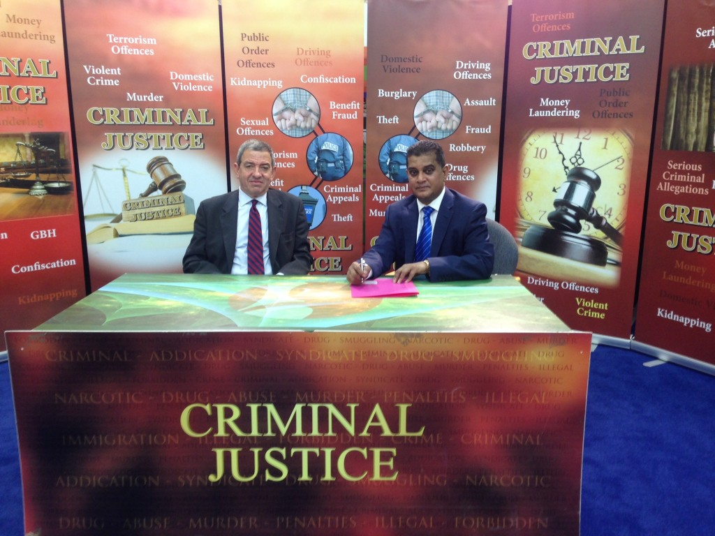 Shafiul Azam and Jeremy Benson QC